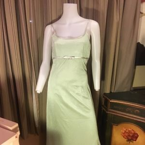 Vintage Dave & Johnny Light green Gown| Size 6